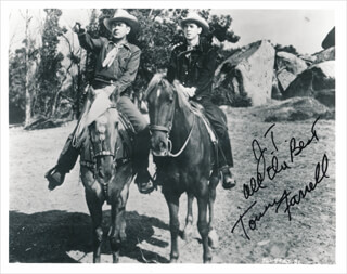 TOMMY FARRELL - AUTOGRAPHED INSCRIBED PHOTOGRAPH