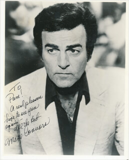 MIKE CONNORS - AUTOGRAPHED INSCRIBED PHOTOGRAPH