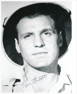 STEVE MITCHELL - AUTOGRAPHED SIGNED PHOTOGRAPH