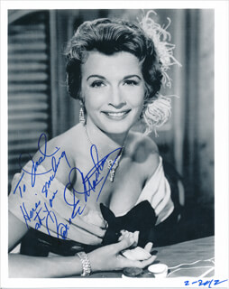CAROLE MATHEWS - AUTOGRAPHED INSCRIBED PHOTOGRAPH