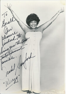 ISABEL WEEZY SANFORD - AUTOGRAPHED INSCRIBED PHOTOGRAPH