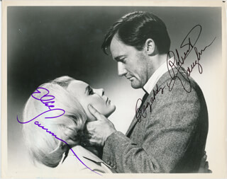 THE VENETIAN AFFAIR MOVIE CAST - AUTOGRAPHED SIGNED PHOTOGRAPH CO-SIGNED BY: ROBERT VAUGHN, ELKE SOMMER