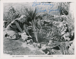 GLENDA FARRELL - PRINTED PHOTOGRAPH SIGNED IN INK