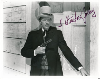 I. STANFORD JOLLEY - AUTOGRAPHED SIGNED PHOTOGRAPH