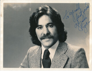 GERALDO RIVERA - AUTOGRAPHED INSCRIBED PHOTOGRAPH