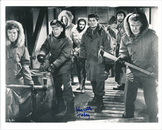 KENNETH TOBEY - AUTOGRAPHED SIGNED PHOTOGRAPH