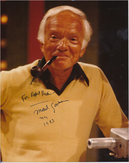 MARK GOODSON - AUTOGRAPHED INSCRIBED PHOTOGRAPH 1983