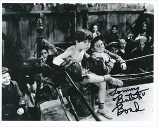 TOMMY BUTCH BOND - AUTOGRAPHED SIGNED PHOTOGRAPH