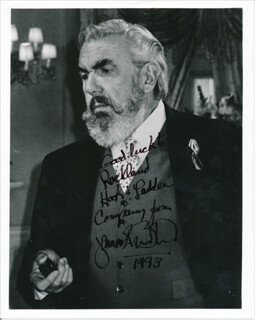 JAMES BRODHEAD - AUTOGRAPHED INSCRIBED PHOTOGRAPH 1993