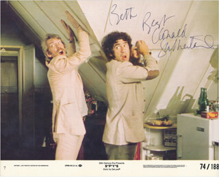 DONALD SUTHERLAND - INSCRIBED PRINTED PHOTOGRAPH SIGNED IN INK