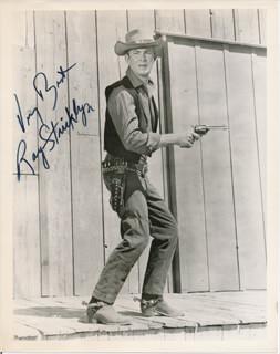 RAY STRICKLYN - AUTOGRAPHED SIGNED PHOTOGRAPH