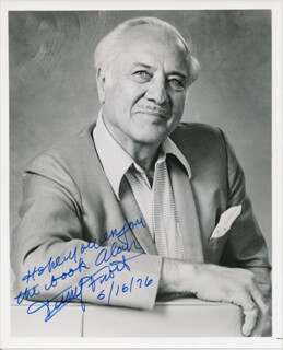 TERRY FROST - AUTOGRAPHED INSCRIBED PHOTOGRAPH 06/16/1976