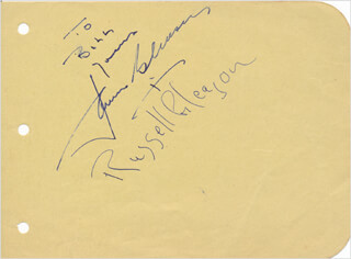 Autographs: JAMES GLEASON - AUTOGRAPH NOTE SIGNED CO-SIGNED BY: RUSSELL GLEASON
