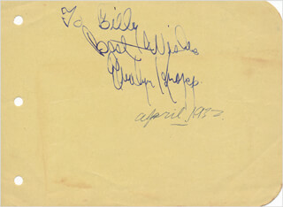 EVALYN KNAPP - AUTOGRAPH NOTE SIGNED 04/1932