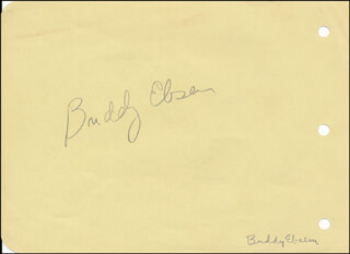 BUDDY EBSEN - AUTOGRAPH CO-SIGNED BY: JOHN ELDREDGE