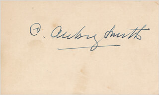 C. AUBREY SMITH - AUTOGRAPH