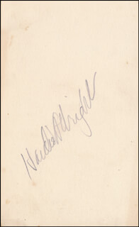 HAIDEE WRIGHT - AUTOGRAPH
