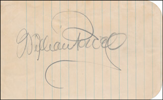 WILLIAM POWELL - AUTOGRAPH