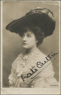 KATE CUTLER - AUTOGRAPHED SIGNED PHOTOGRAPH