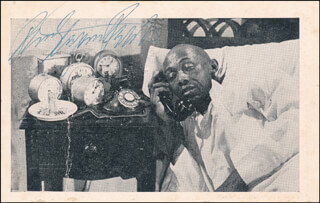 STEPIN FETCHIT - PICTURE POST CARD SIGNED