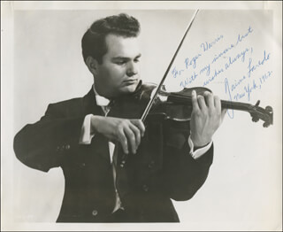 JAIME LAREDO - AUTOGRAPHED INSCRIBED PHOTOGRAPH 1962