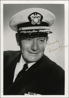 ROSCOE KARNS - AUTOGRAPHED SIGNED PHOTOGRAPH