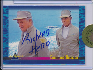 RICHARD HERD - TRADING/SPORTS CARD SIGNED