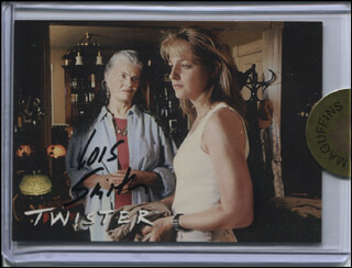 LOIS SMITH - TRADING/SPORTS CARD SIGNED