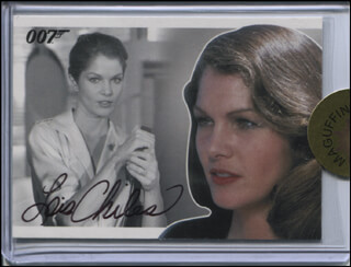 LOIS CHILES - TRADING/SPORTS CARD SIGNED