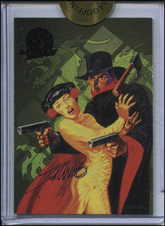 JIM STERANKO - TRADING/SPORTS CARD SIGNED