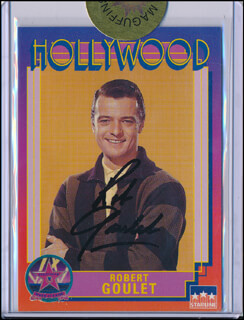 ROBERT GOULET - TRADING/SPORTS CARD SIGNED