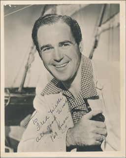 PATRIC KNOWLES - AUTOGRAPHED INSCRIBED PHOTOGRAPH
