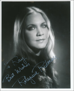ROBYNNE REDMON - AUTOGRAPHED INSCRIBED PHOTOGRAPH