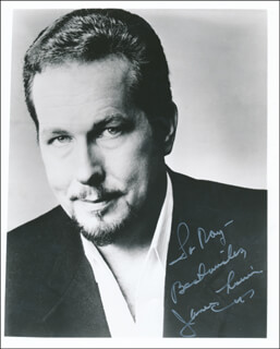 JAMES MORRIS - AUTOGRAPHED INSCRIBED PHOTOGRAPH