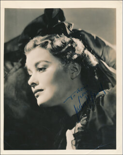JOAN MARSH - AUTOGRAPHED INSCRIBED PHOTOGRAPH