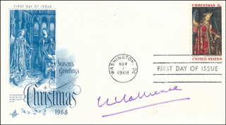 EVA LE GALLIENNE - FIRST DAY COVER SIGNED