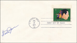 STANLEY ADAMS - FIRST DAY COVER SIGNED