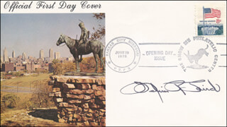MELVIN R. LAIRD - FIRST DAY COVER SIGNED