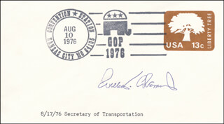 Autographs: WILLIAM T. COLEMAN JR. - FIRST DAY COVER SIGNED