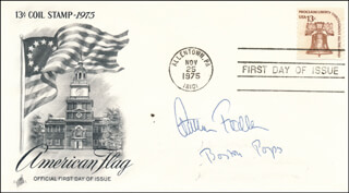 ARTHUR MR. POPS FIEDLER - FIRST DAY COVER SIGNED