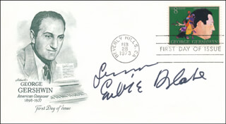 EUBIE BLAKE - AUTOGRAPH SENTIMENT ON FIRST DAY COVER SIGNED