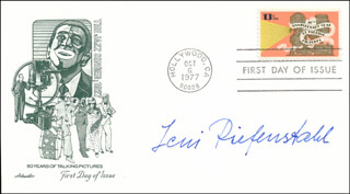 LENI RIEFENSTAHL - FIRST DAY COVER SIGNED