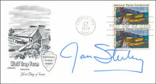 JAN STERLING - FIRST DAY COVER SIGNED