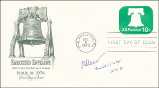 MARSHAL JOHN C. SLESSOR - FIRST DAY COVER SIGNED 02/22/1978