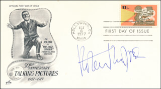 ROBERT REDFORD - FIRST DAY COVER SIGNED
