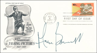 ANNE BANCROFT - FIRST DAY COVER SIGNED