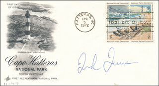 TED TURNER - FIRST DAY COVER SIGNED