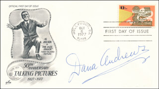 DANA ANDREWS - FIRST DAY COVER SIGNED