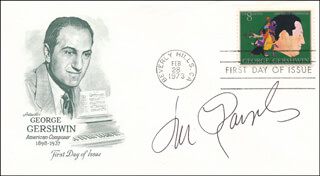 LOU RAWLS - FIRST DAY COVER SIGNED