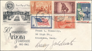 BARRY GOLDWATER - FIRST DAY COVER SIGNED